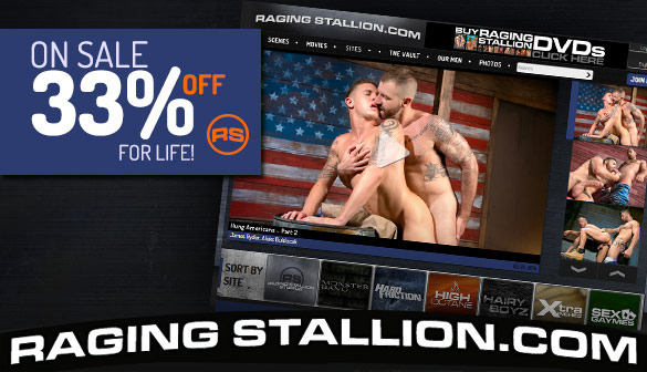 Special Offer from Raging Stallion